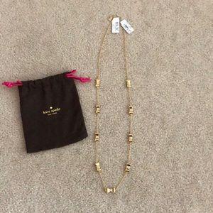 Kate Spade Take A Bow Necklace